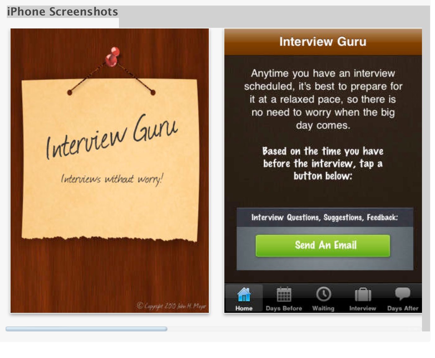 GET YOUR PERFECT JOB! INTERVIEW GURU APP