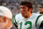 Joe Namath Way Back When...With The New York Jets