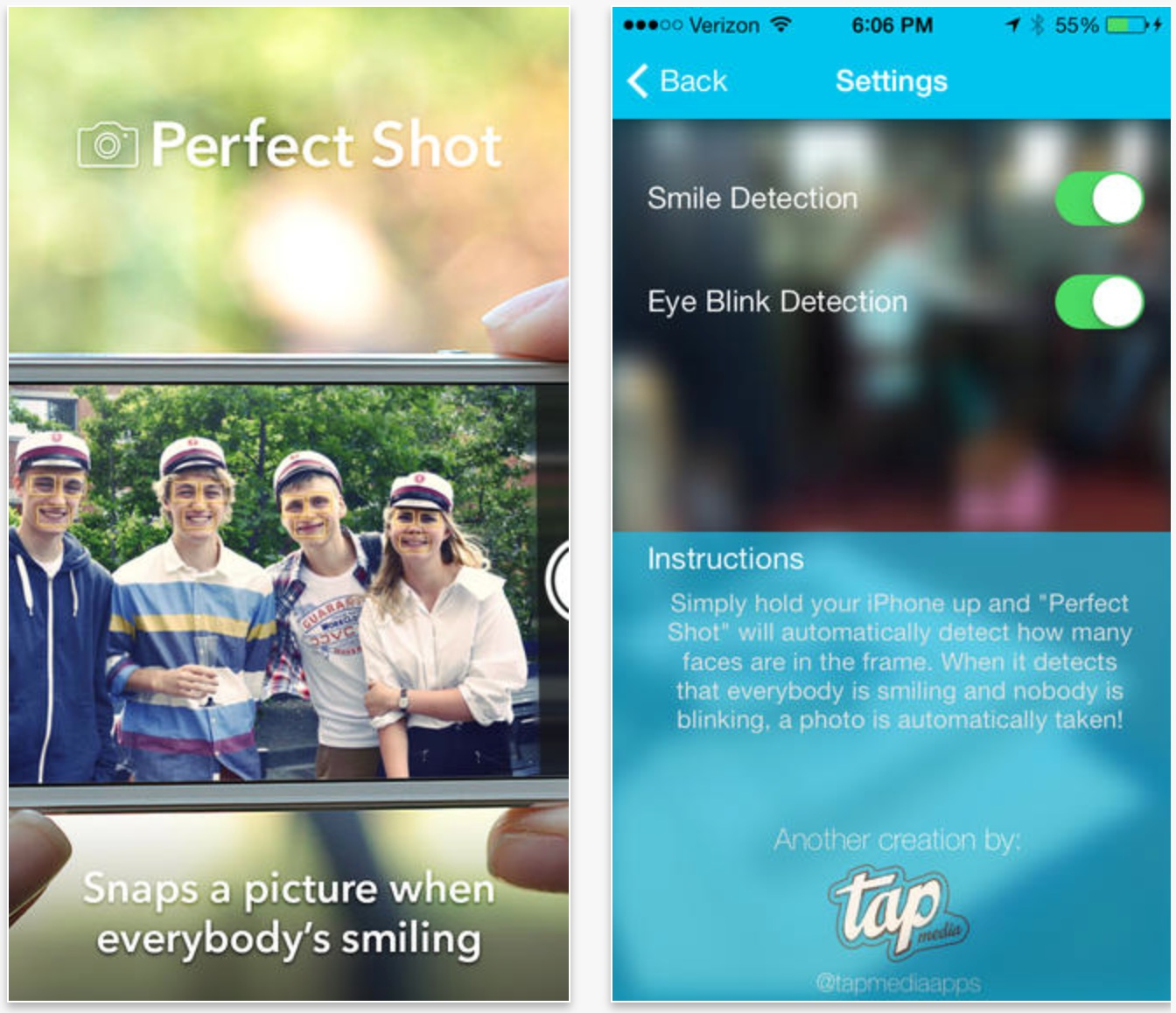 TAKE PERFECT SHOTS! NEW FREE APP FOR iPHONE