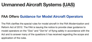 The FAA's Official Notice