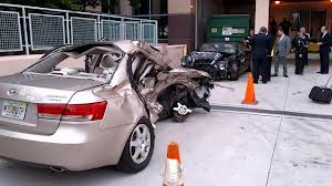 Car in Goodman Case Totally Destroyed